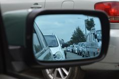 🌐 Car Side Mirror Showing Heavy Traffic - new photo at Avopix.com    ✔ https://avopix.com/photo/34686-car-side-mirror-showing-heavy-traffic    #mirror #car mirror #reflector #car #vehicle #avopix #free #photos #public #domain