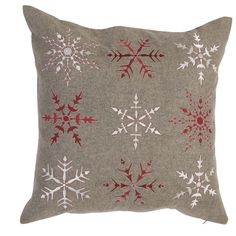 11) Že sa vám nechce vyšívať? A čo tak si kúpiť rovno hotový vianočný vankúšik? Vankúšik: Cushion 50*50. Cena: 987 Kc. Kúpite na www.almara-shop.cz.
