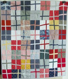 Wonky Crosses quilt | a quilt is nice