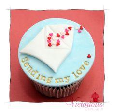 Valentines Cupcakes - Sending My Love <3