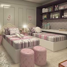 Home Decorating Ideas Kitchen and room Designs Kids Bedroom Decor, Room, Room Design, Home, Girl Bedroom Designs, Bedroom Design, Bedroom Diy, Bedroom Furniture, Dream Rooms