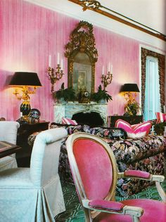 interior design by Ron Wilson Architectural Digest october 1980