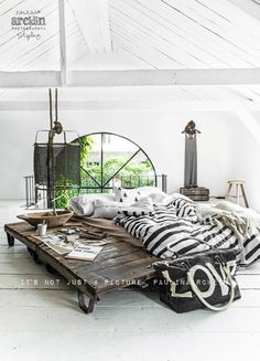 Scandinavian interior design ideas, I like it but I don't know if I can handle all that white