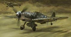 Messerschmitt Bf109 G-10 ~ BFD
