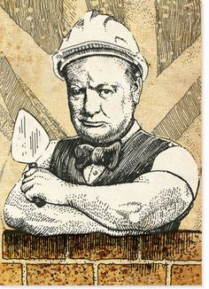 Artistic Type : Radio Times Winston Churchill Commission