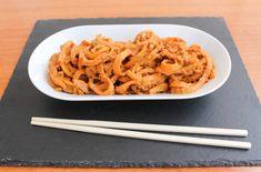 Peanut Butternut Squash Noodles - Tasty Vegan Life