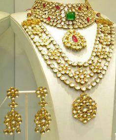 Kundan bridal jewelry