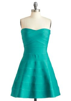 Atmosphere of Influence Dress, #ModCloth    Pretty for a night out!