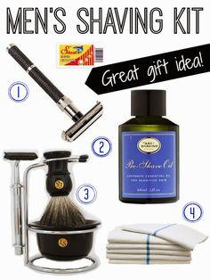 ~Great gift idea: Men's Shaving Kit | The House of Beccaria#