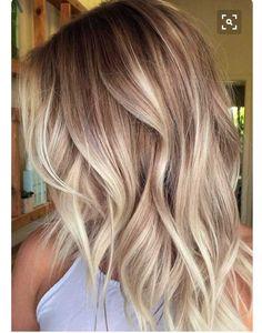 Ombre beige blonde