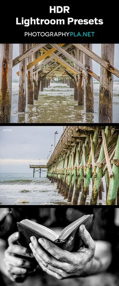 A set of 30 HDR Lightroom presets. Instantly create HDR effects with any photo.