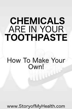 We know you can absorb things easily under your tongue, straight into your bloodstream. Why wouldn't this be happening with the chemicals in your toothpaste too? #toothpaste #health #wellness #toothpasteRecipe #selfcare #bodyhealth #chemicals #detox