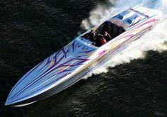 One more cigarette boat!