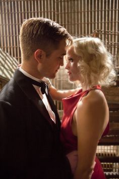 Water For Elephants While touring for the circus, Jacob (Robert Pattinson) and Marlena (Reese Witherspoon) get cozy — despite her being married to the ringmaster.