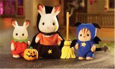 Calico Critters Happy Halloween Set