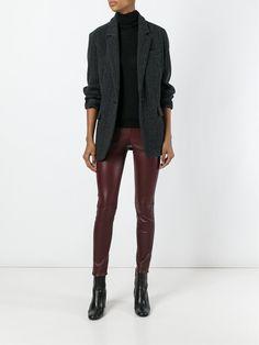 #theory #skinny #leather #pants #red #burgundy #women #new www.jofre.eu