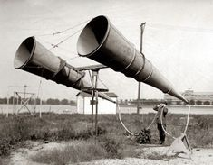 || obsolete military designs for magnifying sound