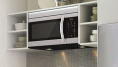 Microwave Oven Buying Guide   Lowe's Built In Microwave Oven, Microwave Plate, Countertop Microwave Oven, Microwave In Kitchen, Microwave Cabinet, French Door Oven, Hanging Microwave, Stainless Steel Oven, Wall Oven