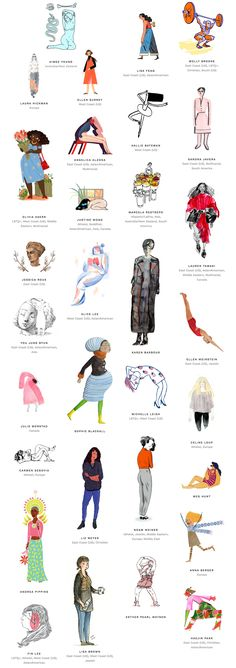 Women Who Draw: An Open Directory of Female Professional Illustrators