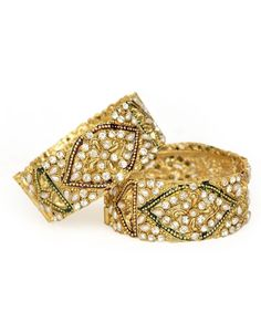 Other Ethnic, Regional & Tribal Jewelry Indian Bollywood, Bangle Set, Ladies Party, Tribal Jewelry, Diwali, Party Wear, Ethnic, Traditional, Gold