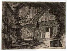 Giovan Battista Piranesi, le carceri, 1750 ca.