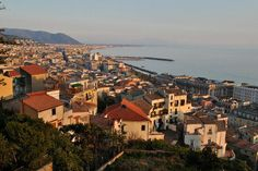 Salerno from top view