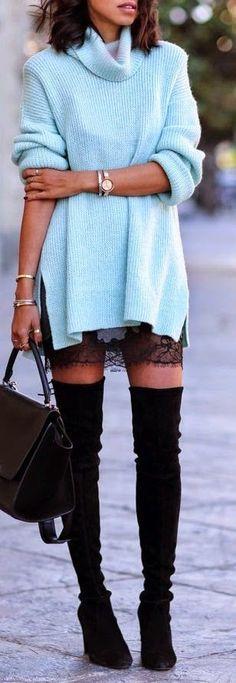Blog da Luciana Fraga: 5 looks com bota Over the Knee