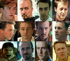 Happy birthday @edwardnortonofficial! You were in a lot of my favorite movies; Fight Club The Score and The Illusionist just to name a few. :) What's your favorite Edward Norton movie? #happybirthday #edwardnorton #fightclub #thescore #theillusionists #hulk #thesimpsons #birdman #reddragon #sausageparty