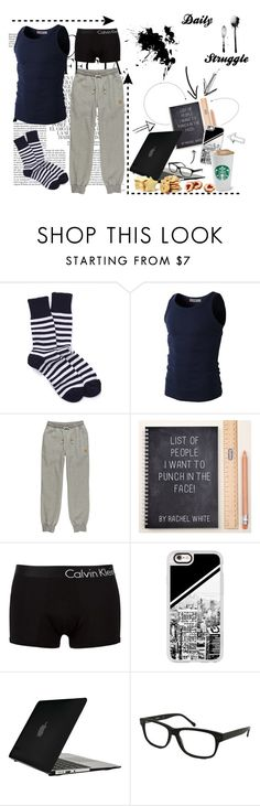 """006 Learning or watching next Episode?"" by berry2206 on Polyvore featuring Whiteley, tentree, Calvin Klein Jeans, Casetify, Speck, Kenneth Cole, men's fashion, menswear und casualoutfit"