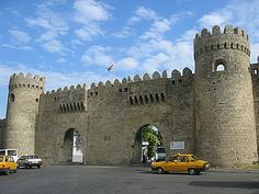 Old City of Baku, Azerbaijan
