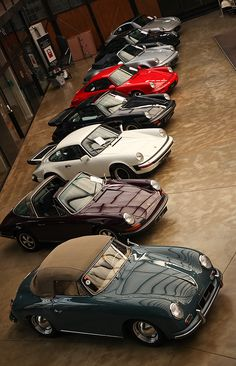 Car goals! (Missing a Singer 911 & a RUF... but you know, you can't have it ALL!).
