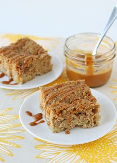 Caramel Apple Coffee Cake Recipe. Who can't have coffee without some coffee cake!
