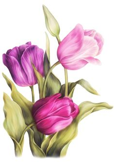 – Tulpen Kreuzstich Pttern Lila Tulpen Kreuzstich … This article is not available. Art Floral, Watercolor Flowers, Watercolor Paintings, Watercolor Tattoos, Impressions Botaniques, Tulip Tattoo, Tulip Painting, Tulip Drawing, Purple Tulips