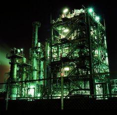 その他一眼レフ - Re:静かな工場 -  工場  夜景  - Camera Talk -