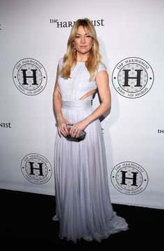 Kate Hudson Metallic Clutch - Kate Hudson paired her gown with a faceted silver clutch.