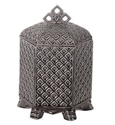 Features:  -Ceramic construction.  Product Type: -Jar.  Primary Material: -Ceramic.  Color: -Gray.  Set Size: -1.  Style: -Contemporary.  Shape: -Novelty. Dimensions:  Overall Product Weight: -8 lbs.
