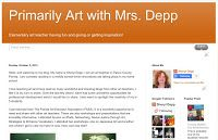 Primarily Art with Mrs. Depp: First Year Reflections