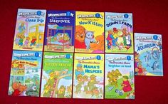 9 Berenstain Bears I CAN READ! Level 1 Readers Books Ages 5 6 7 8