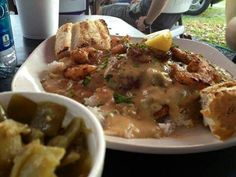 Dish from Darwell's Cafe. Long Beach, Ms.