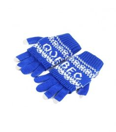 Royal Blue Quebec 2 In 1 Gloves Winter Collection 2016