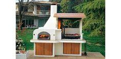 ANTILLE olasz kerti grill, kemence