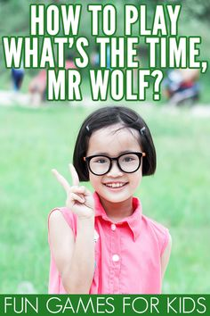 Fun Group Games for Kids: How to Play What's the Time, Mr Wolf? Fun Group Games for Kids: How to Play What's the Time, Mr Wolf? Time Games For Kids, Outside Games For Kids, Reading Games For Kids, Kids Fun, Large Group Games, Group Games For Kids, Kids Party Games, Kids Church Games, Kid Games Indoor