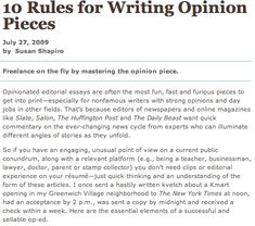 How to Write an Opinion Article Articles Make A Difference In Online Marketing Content Marketing, Online Marketing, Opinion Piece, Opinion Writing, Article Writing, Writer, Editorial, Articles, Comment