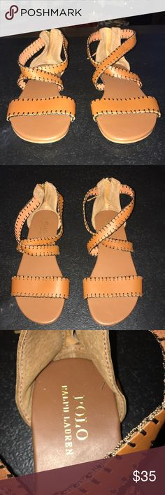 Polo Ralph Lauren Sandals Beautiful Sandals in great condition. Worn once! Polo by Ralph Lauren Shoes Sandals