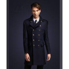 Manteau Long Officier Homme Manteau Cintré, Manteau Homme, Vêtements  Gothiques, Officier, Cintre f4b969c16b3a