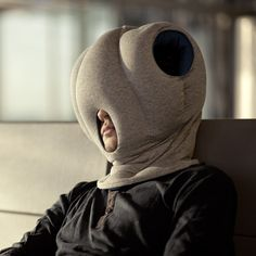Ostrich Pillow -- What the heck??  I dare you to wear this in front of another human being...