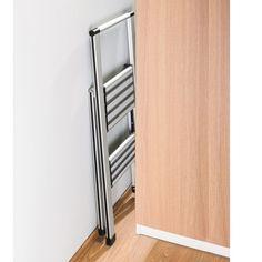 Escabeau 2 marches en aluminium ON RANGE TOUT Totalement, Cabinet, Barre, Ainsi, Storage, Ranger, Minimal, Furniture, Home Decor