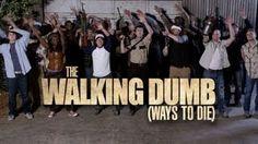 The Walking Dead + Dumb Ways to Die Parody - The Walking Dumb, via YouTube.