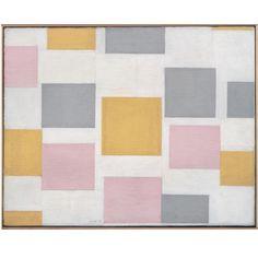 Piet Mondrian; 'Composition with Color Planes 5', 1917