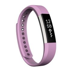 [$2.38] For Fitbit Alta Watch Oblique Texture Silicone Watchband, Small Size, Length: about 18.5cm (Light Purple)